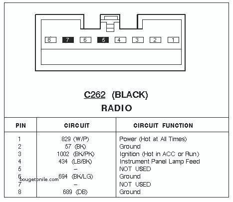 2000 Ford Mustang Radio Wiring Diagram - Wiring Diagram ...