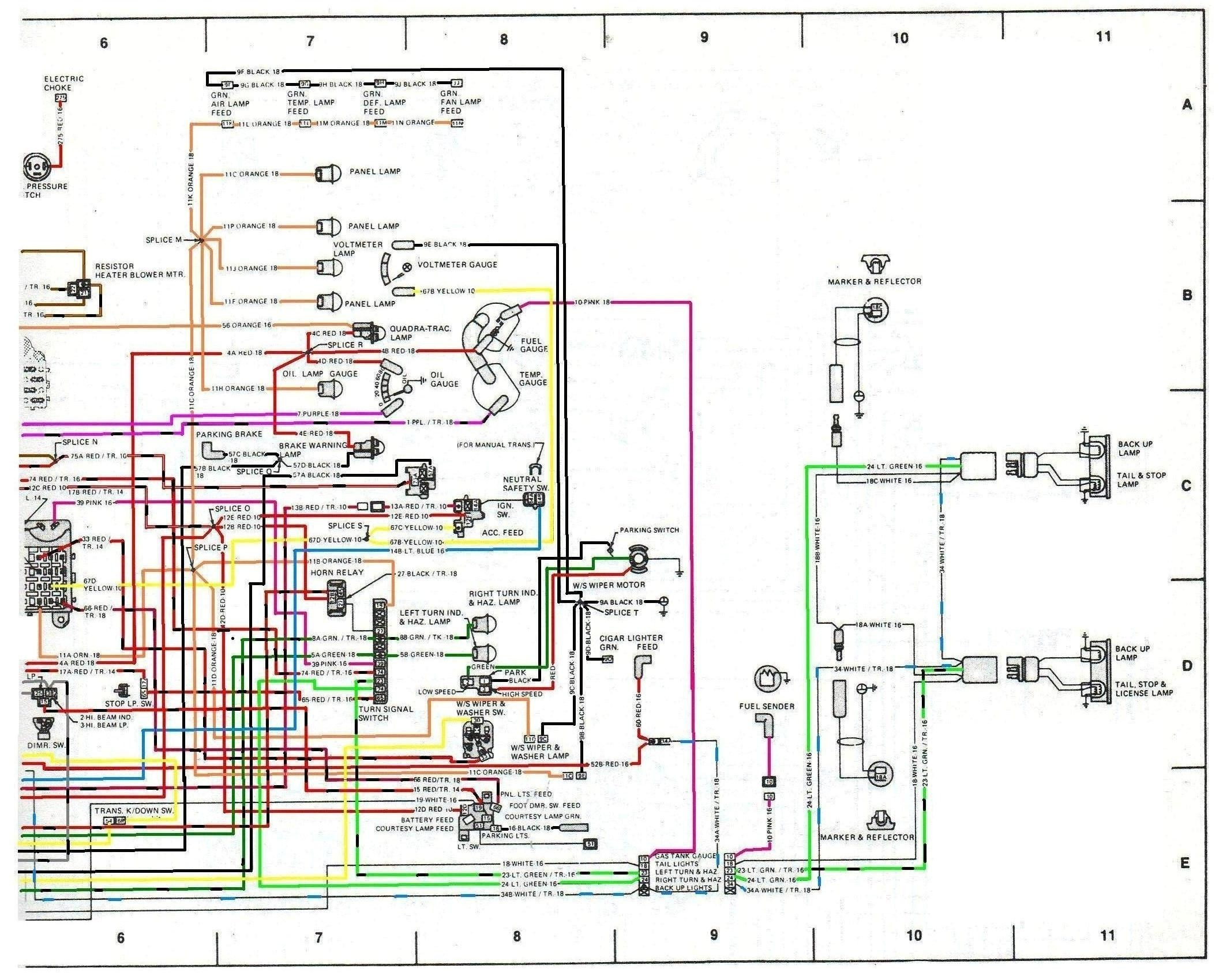 Cj Jeep Wire Harness Diagram - Wiring Diagrams DataUssel