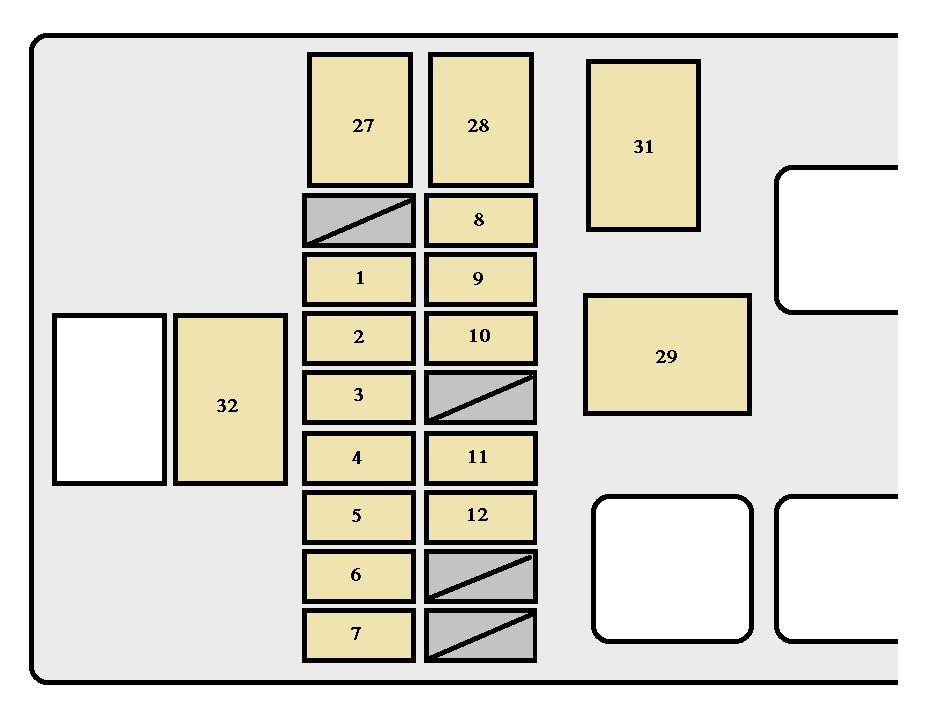 Strange 2012 Tacoma Fuse Box Basic Electronics Wiring Diagram Wiring Cloud Licukshollocom