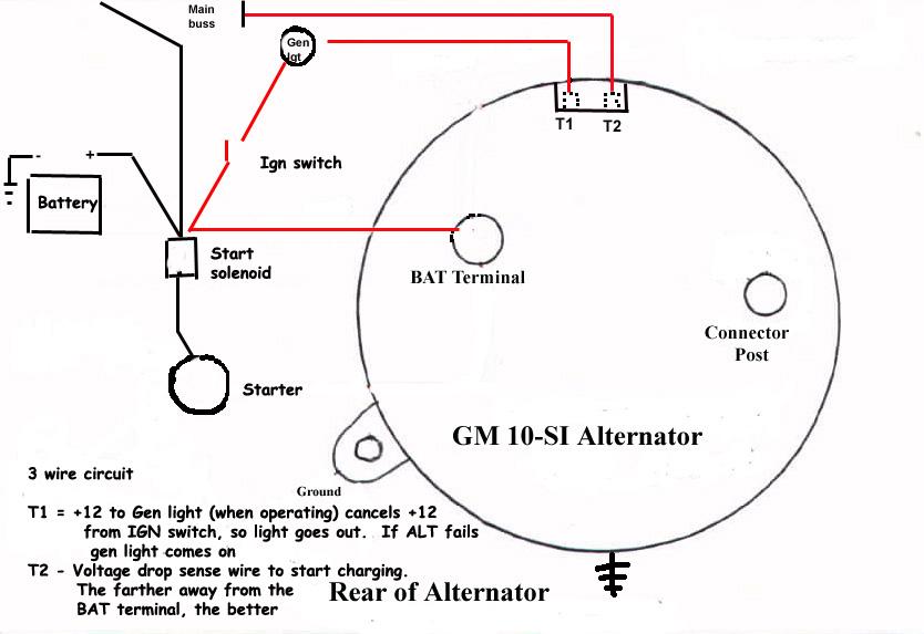gm delco remy alternator wiring  wiring diagram wavedesign
