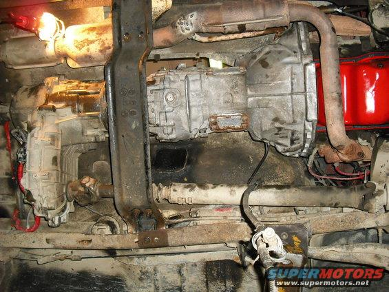 Excellent Aod To Zf Small Block Pics Ford Bronco Forum Wiring Cloud Licukaidewilluminateatxorg