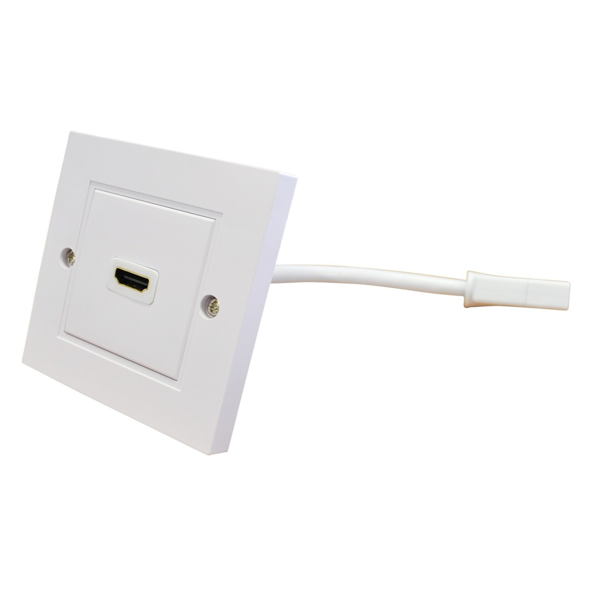 Groovy Eagle Single Hdmi Wall Plate With Flying Lead At Gear4Music Wiring Cloud Itislusmarecoveryedborg