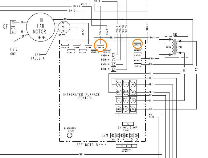 Cr 3102  Trane Xl 1200 Air Conditioner Capacitor Wiring Diagram Wiring Diagram