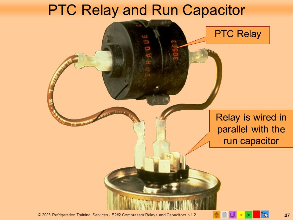 Ptc Relay Wiring Diagram