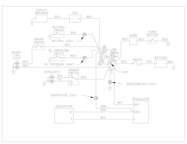 cycle electrics panhead wiring diagram 92 gmc safari fuse