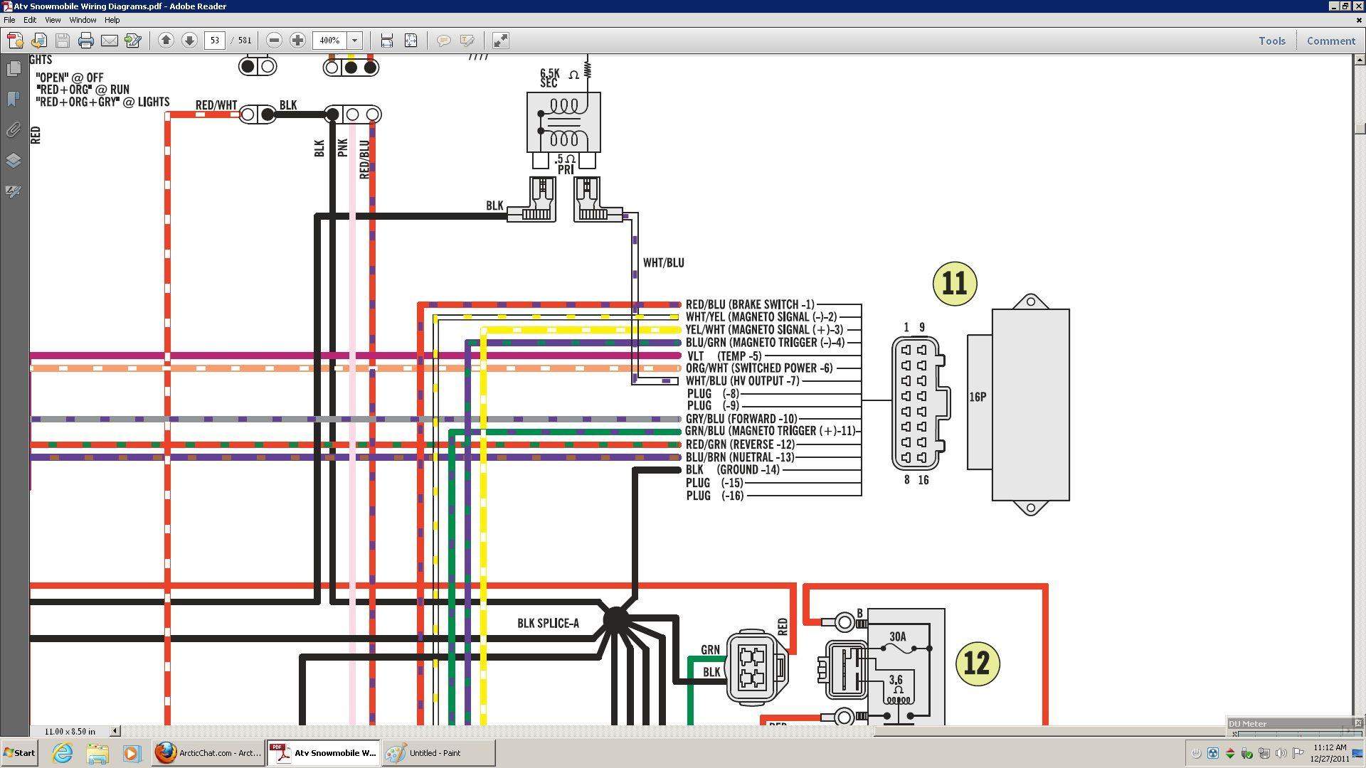 Polaris Sportsman 500 Cdi Wiring Diagram - Wiring Diagram ...