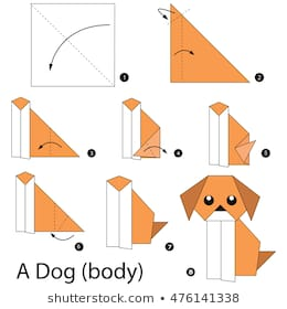 Origami Dog : 20 Steps - Instructables | 280x260