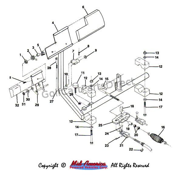 Wondrous 1984 1991 Club Car Ds Gas Golfcartpartsdirect Wiring Cloud Biosomenaidewilluminateatxorg