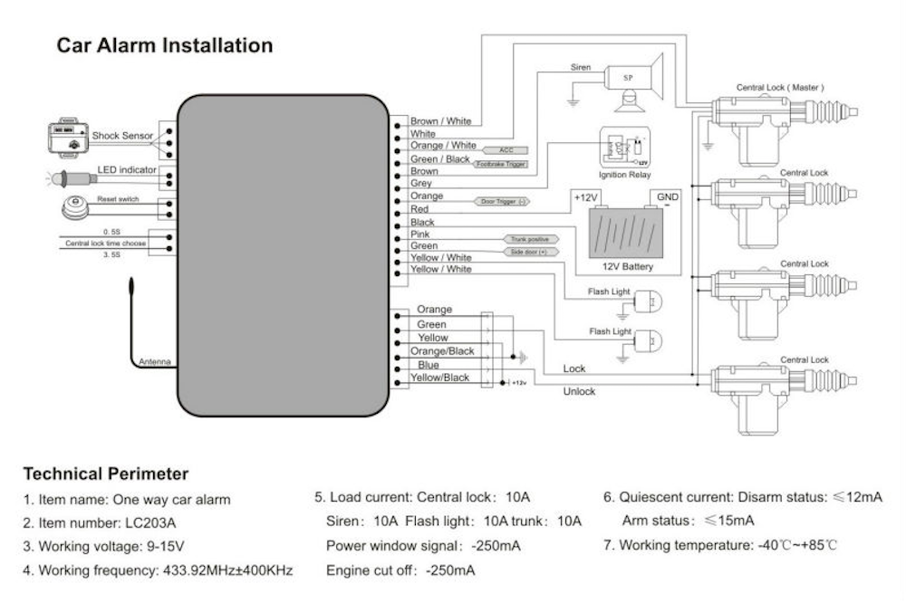 Prime How To Install A Car Alarm Yourmechanic Advice Wiring Cloud Licukaidewilluminateatxorg