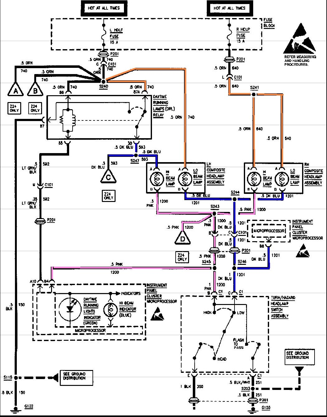 1999 Chevy Cavalier Headlight Wiring Diagram Wiring Diagram Provider Provider Frankmotors Es