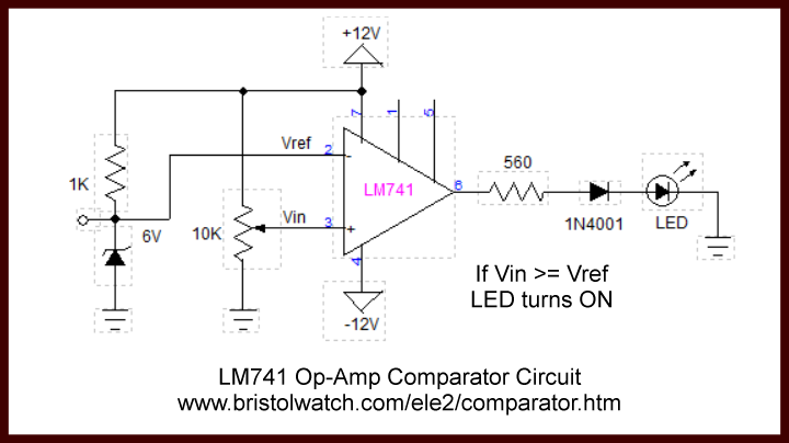 Amazing Comparator Circuits Examples Tutorial Wiring Cloud Uslyletkolfr09Org