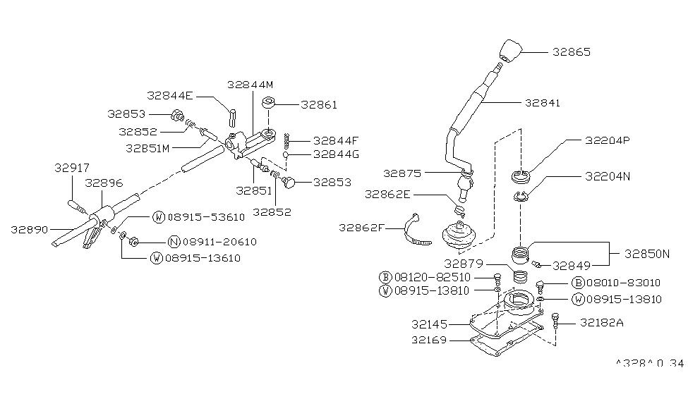 Ys 2639 Nissan D21 Transmission Diagram