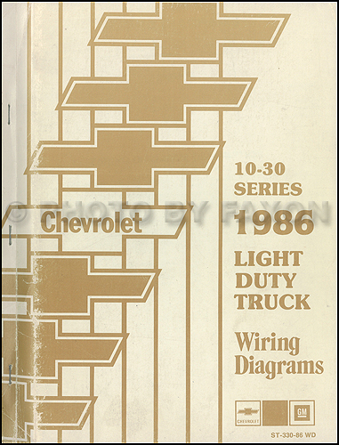 Incredible 1986 Chevrolet Ck Wiring Diagram Original Pickup Suburban Blazer Wiring Cloud Histehirlexornumapkesianilluminateatxorg