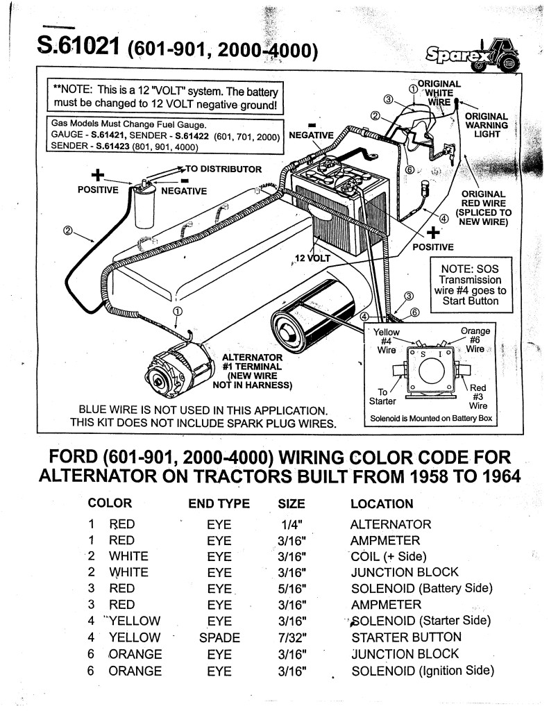 Ford Naa Tractor Wiring Diagram - Integrated Starter Generator Wiring  Diagram for Wiring Diagram SchematicsWiring Diagram Schematics