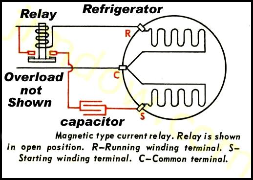 Refrigerator Compressor Wiring Diagram