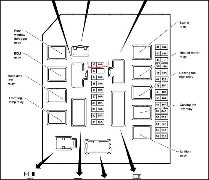 se_2405] 2005 nissan armada fuse diagram schematic wiring  opein tivexi mohammedshrine librar wiring 101