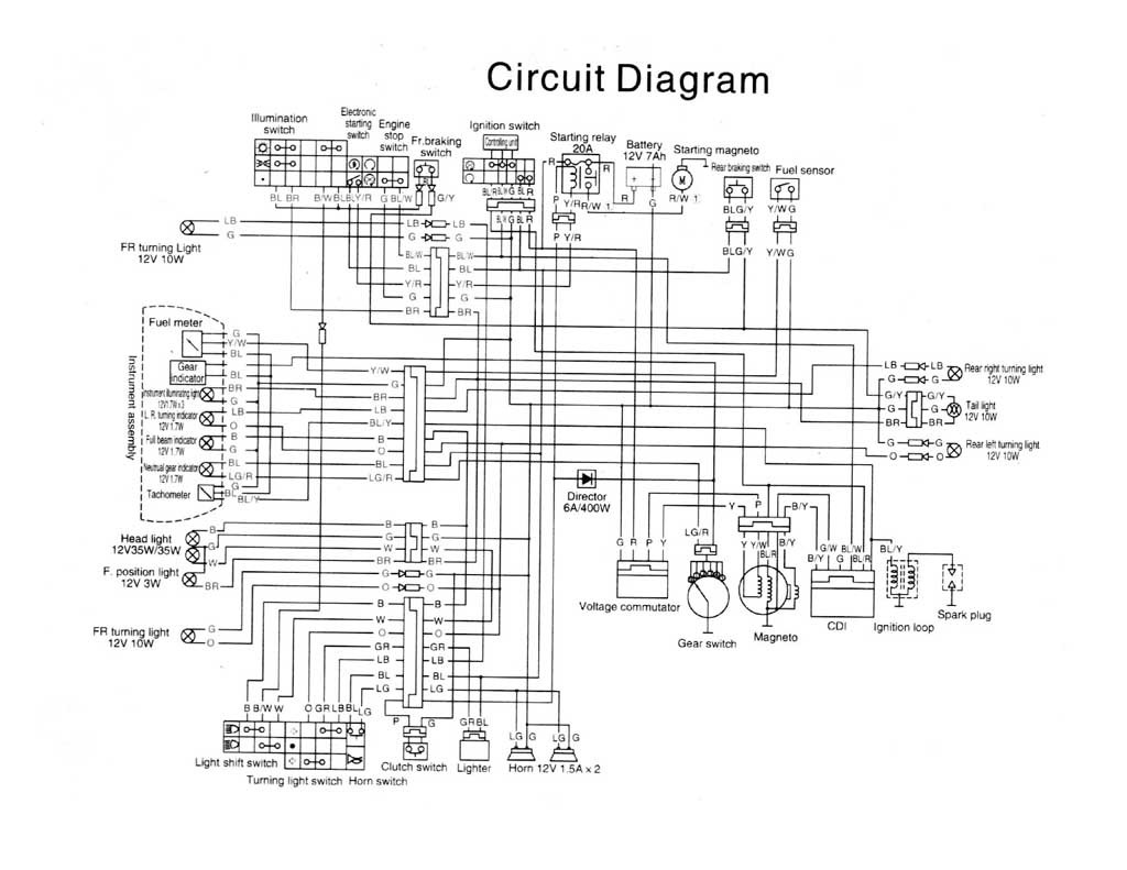 yamaha kodiak wiring diagram free download schematic sn 7370  yamaha raider wiring harness free download wiring  sn 7370  yamaha raider wiring harness