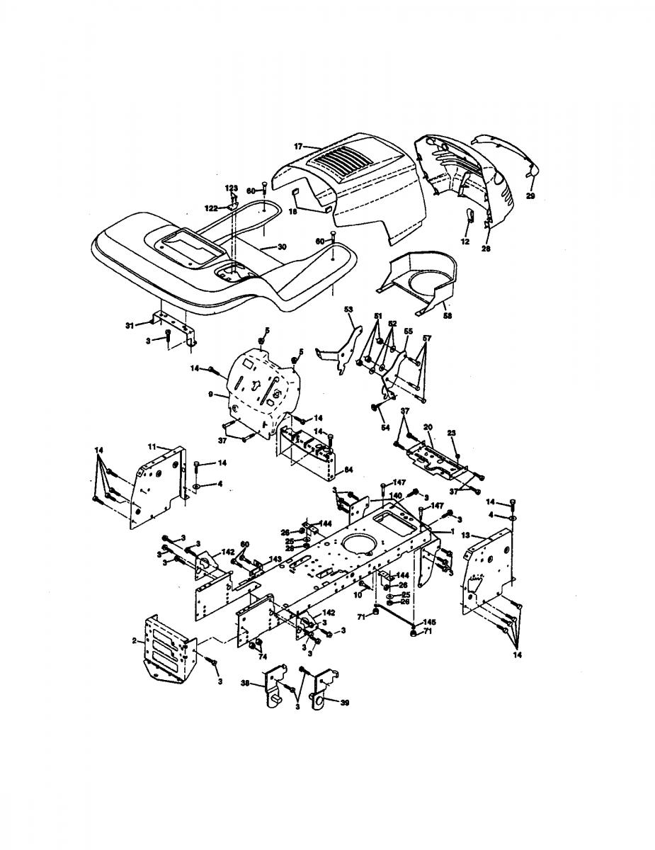 Craftsman Lt 1000 Wiring Diagram