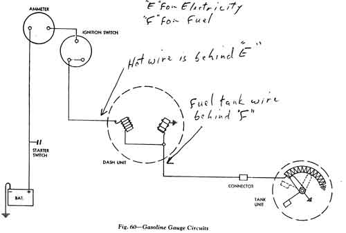 55 Chevy Fuel Gauge Wiring Diagram