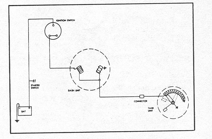 Superb Chevy Fuel Gauge Wiring Basic Electronics Wiring Diagram Wiring Cloud Rineaidewilluminateatxorg