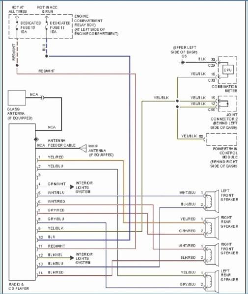 97 Mirage Radio Wiring Diagram