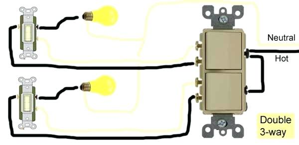 Prime Wiring A Double Pole Switch How To Wire Switches Light Switch Double Wiring Cloud Histehirlexornumapkesianilluminateatxorg