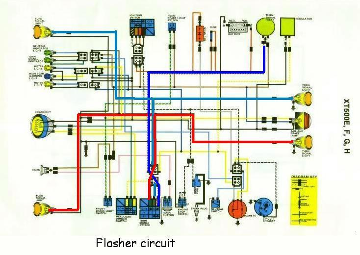 Yamaha Xt200 Wiring Diagram