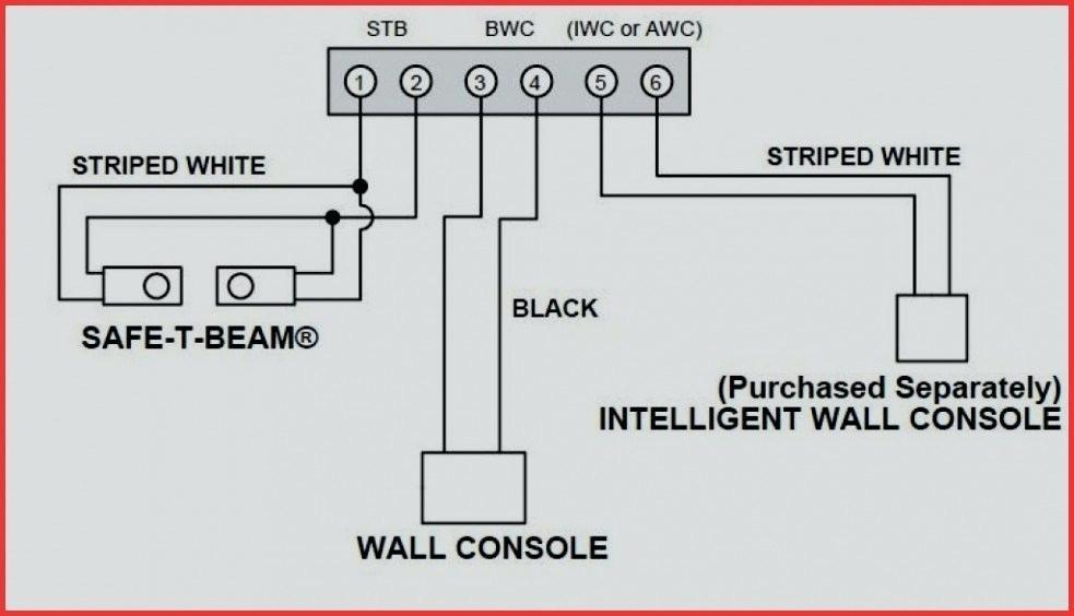 garage door safety sensor wiring diagram  block diagram