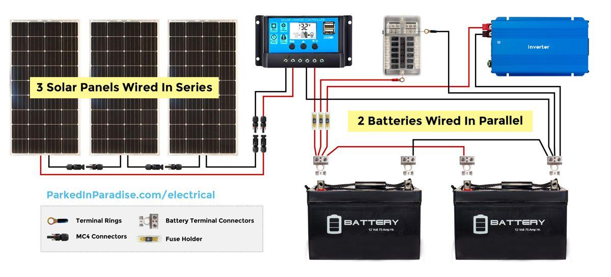 Na 4069  Solar Inverter Wiring Diagram Schematic Wiring