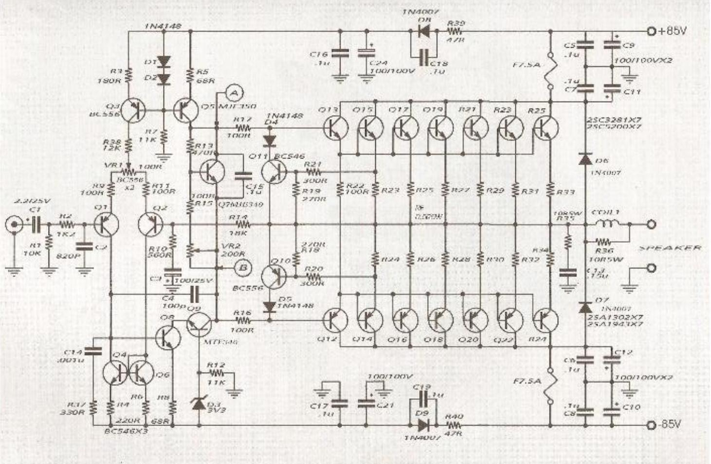 HN_9375] Amplifier Circuit Diagram Based On Tda1554 And Integrated Circuit  Wiring DiagramPara Sapebe Mohammedshrine Librar Wiring 101