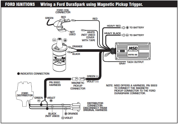 Admirable How To Install An Msd 6A Digital Ignition Module On Your 1979 1995 Wiring Cloud Timewinrebemohammedshrineorg