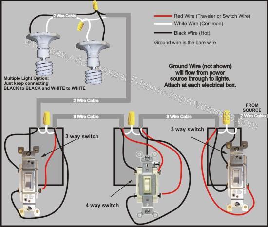 Wondrous 4 Wire Switch Light Wiring Diagram D Common Wiring Diagram Database Wiring Cloud Hisonepsysticxongrecoveryedborg
