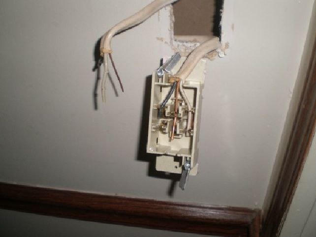 Peachy Changing A Light Switch In A Mobile Home The Home Depot Community Wiring Cloud Xortanetembamohammedshrineorg