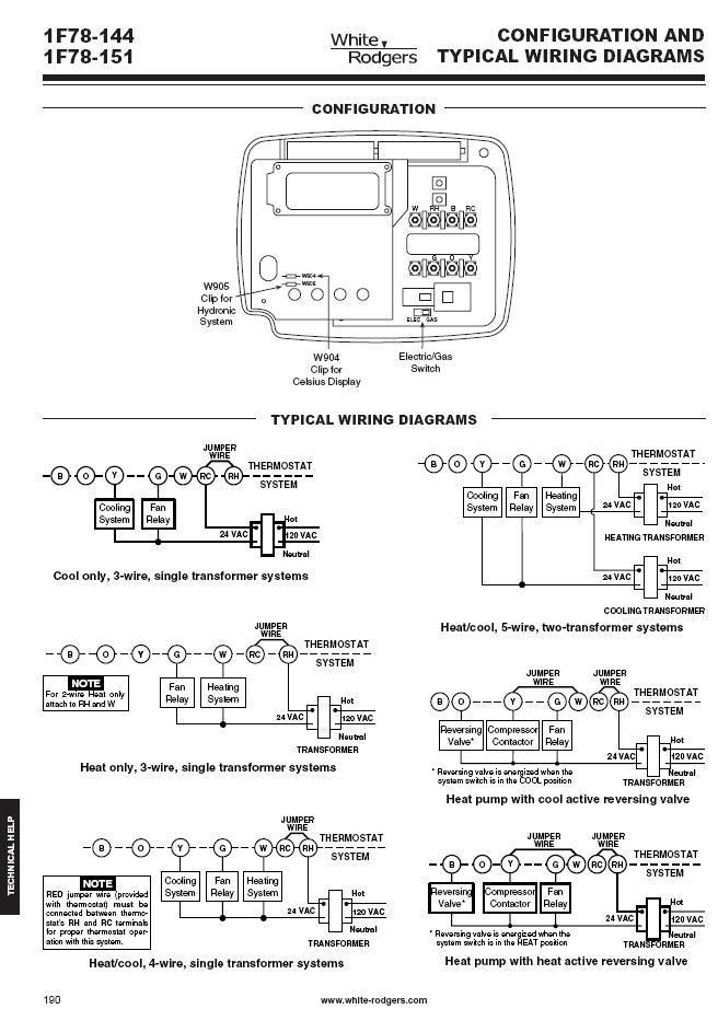 RO_9328] White Rodgers Thermostat Wiring Free Diagram | White Rodgers Thermostat Wiring Diagrams |  | Xolia Inama Mohammedshrine Librar Wiring 101