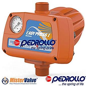 220V with gauge Pedrollo EASYPRESS Press controll EASYPRESS I 1HP 0,75KW