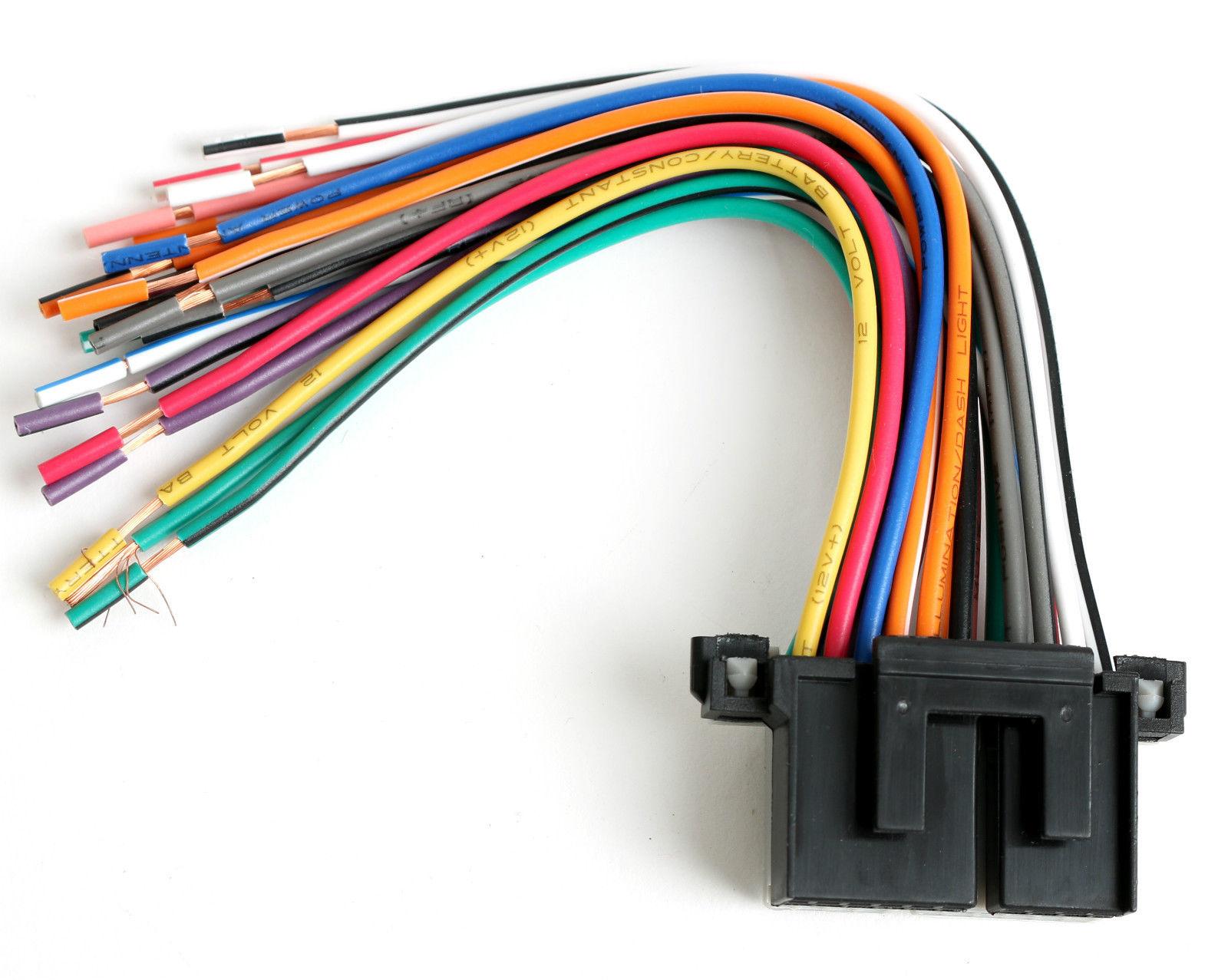 Yx 9198  Metra Wiring Harness Chevy Wiring Diagram