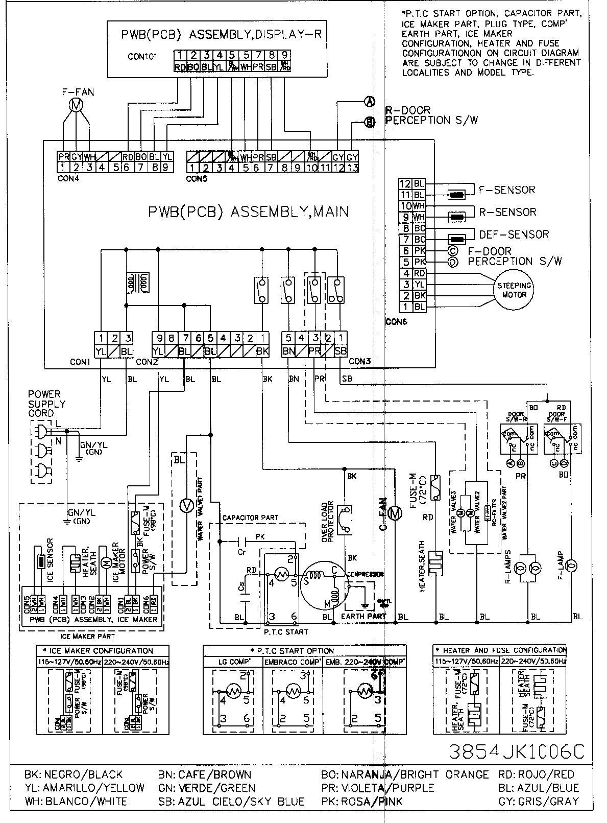electrical wiring diagram refrigeration sub zero refrigerator wiring diagram wiring diagram data  sub zero refrigerator wiring diagram