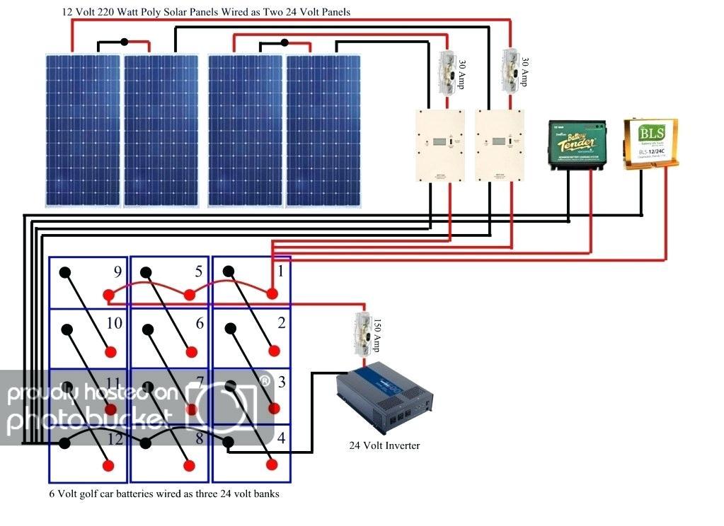 Fa 4133 12v 24v Solar Panel Wiring Diagram Schematic Wiring
