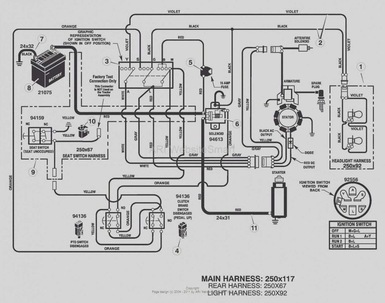 Wiring Diagram For Gs6500 Tractor 04