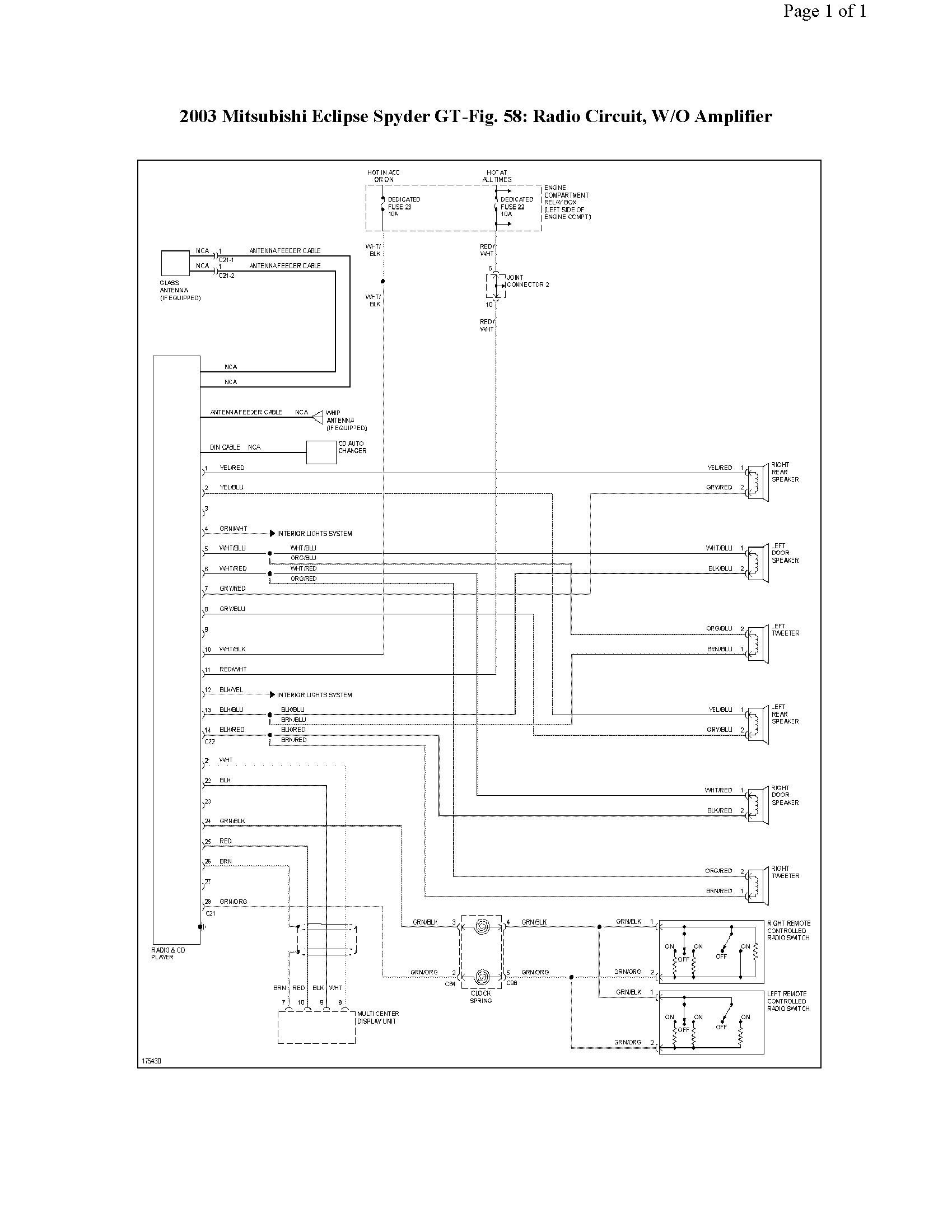 Diagram 2000 Mitsubishi Eclipse Wiring Diagram Speakers Full Version Hd Quality Diagram Speakers Ardiagram Nazionalebasketmagistrati It