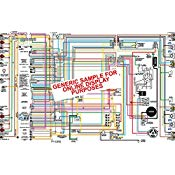 Amazing Amazon Com 1969 Pontiac Bonneville Catalina Wiring Diagram 18 X 24 Wiring Cloud Monangrecoveryedborg
