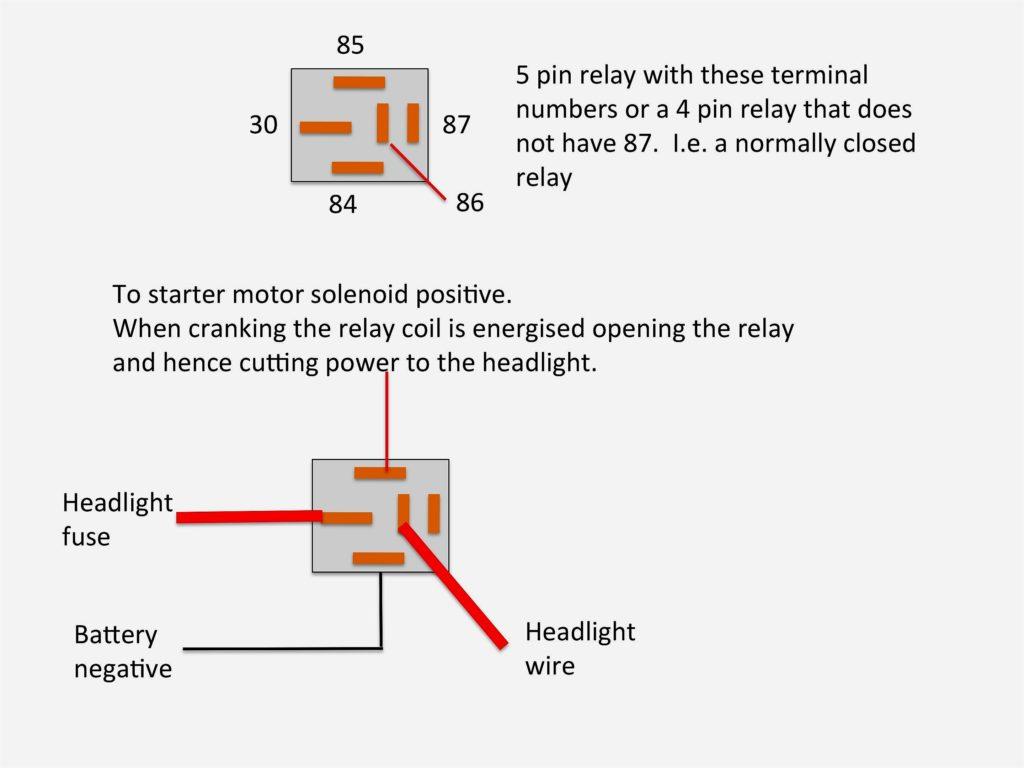 Terrific Relay Wiring Diagram 4 Pin Basic Electronics Wiring Diagram Wiring Cloud Overrenstrafr09Org