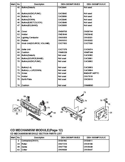 deh x6500bt wiring diagram fuse box diagram for 2009