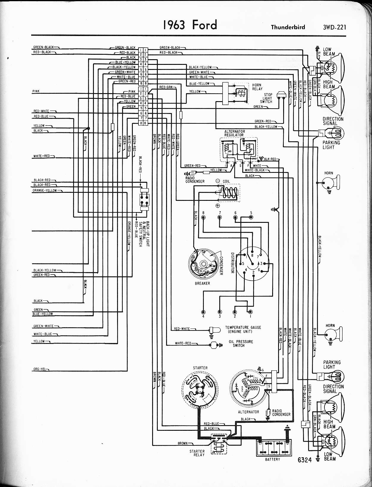 Ford Ba Falcon Wiring Diagram