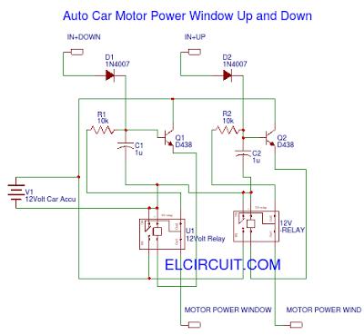 FV_0446] Automobile Power Window Circuit Diagramwiring Diagram Schematic  Wiring