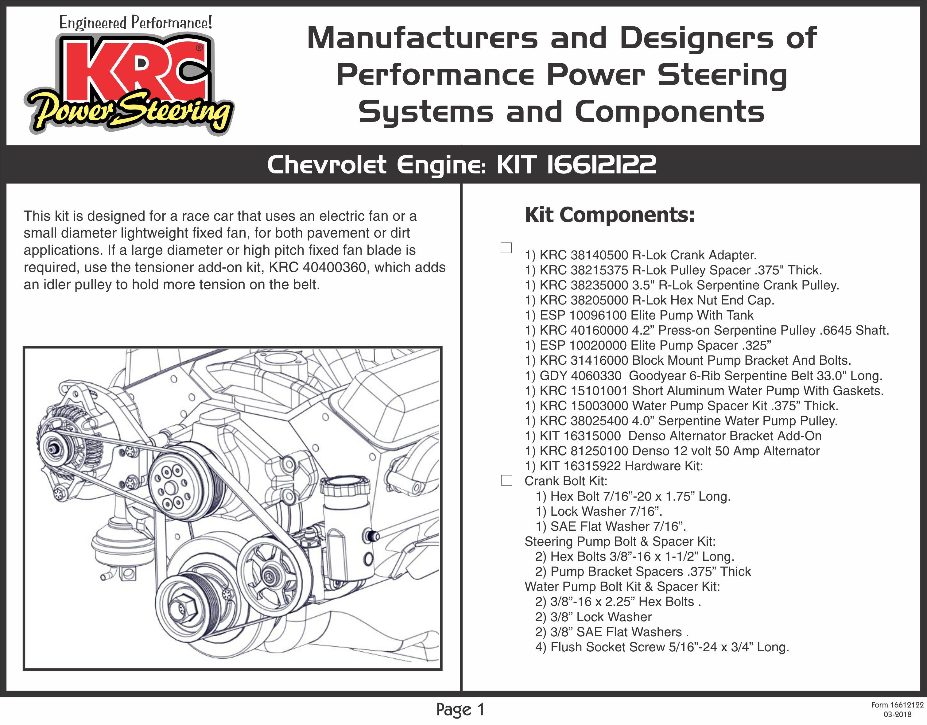 Hk 8852  Repair Guides Power Steering Pump Removal