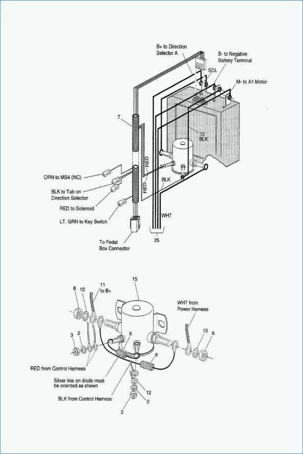 Rx 4695 Golf Cart 36 Volt Wiring Diagram 1989 Ezgo