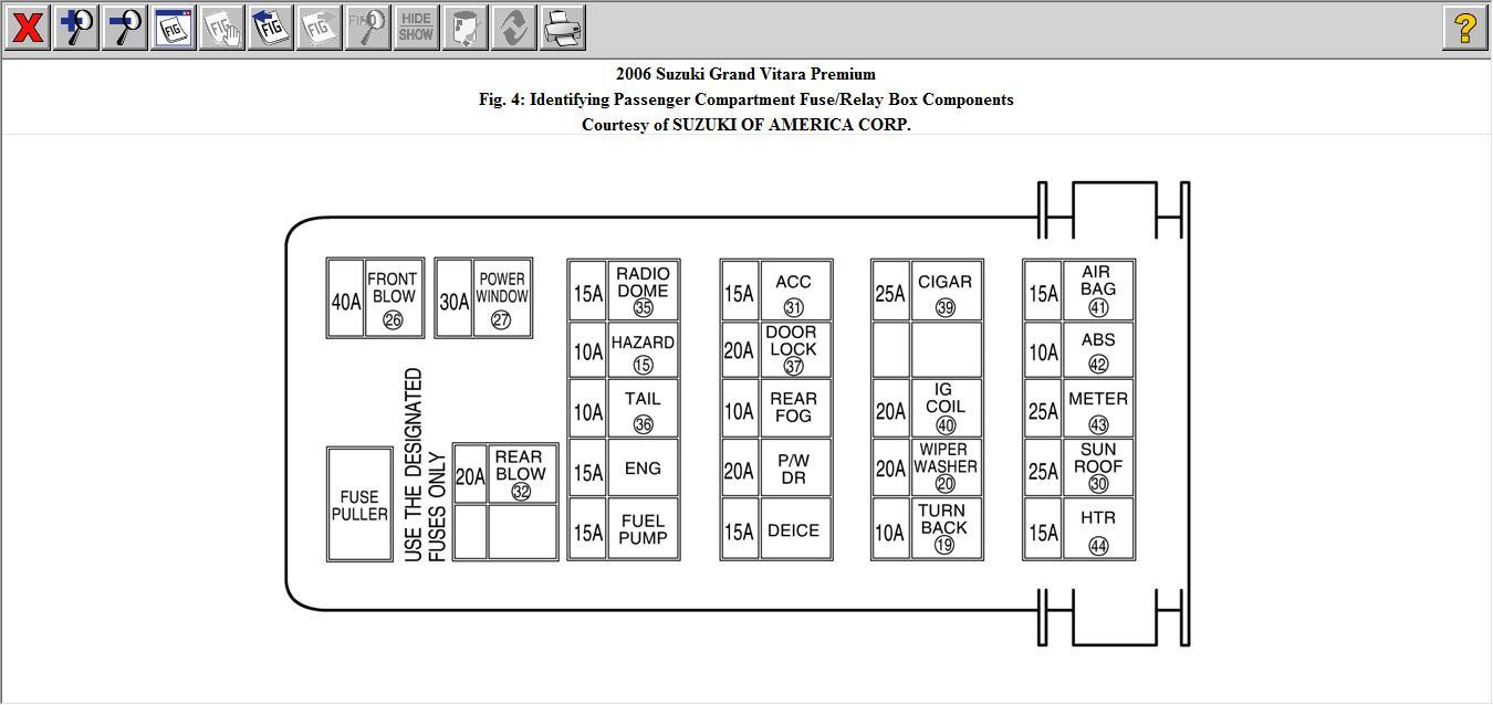 Fabulous Suzuki Vitara Jlx Fuse Box Wiring Diagram Libraries Wiring Cloud Ittabisraaidewilluminateatxorg