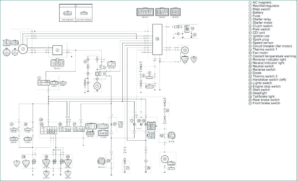 Yamaha Bruin 350 Wiring Diagram