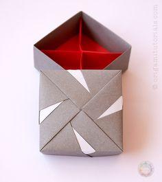Origami Box in a Box Folding Instructions | 265x236